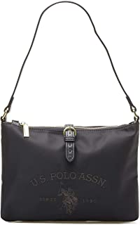 U.S. POLO ASSN. Womens Crossbody Bag, Black