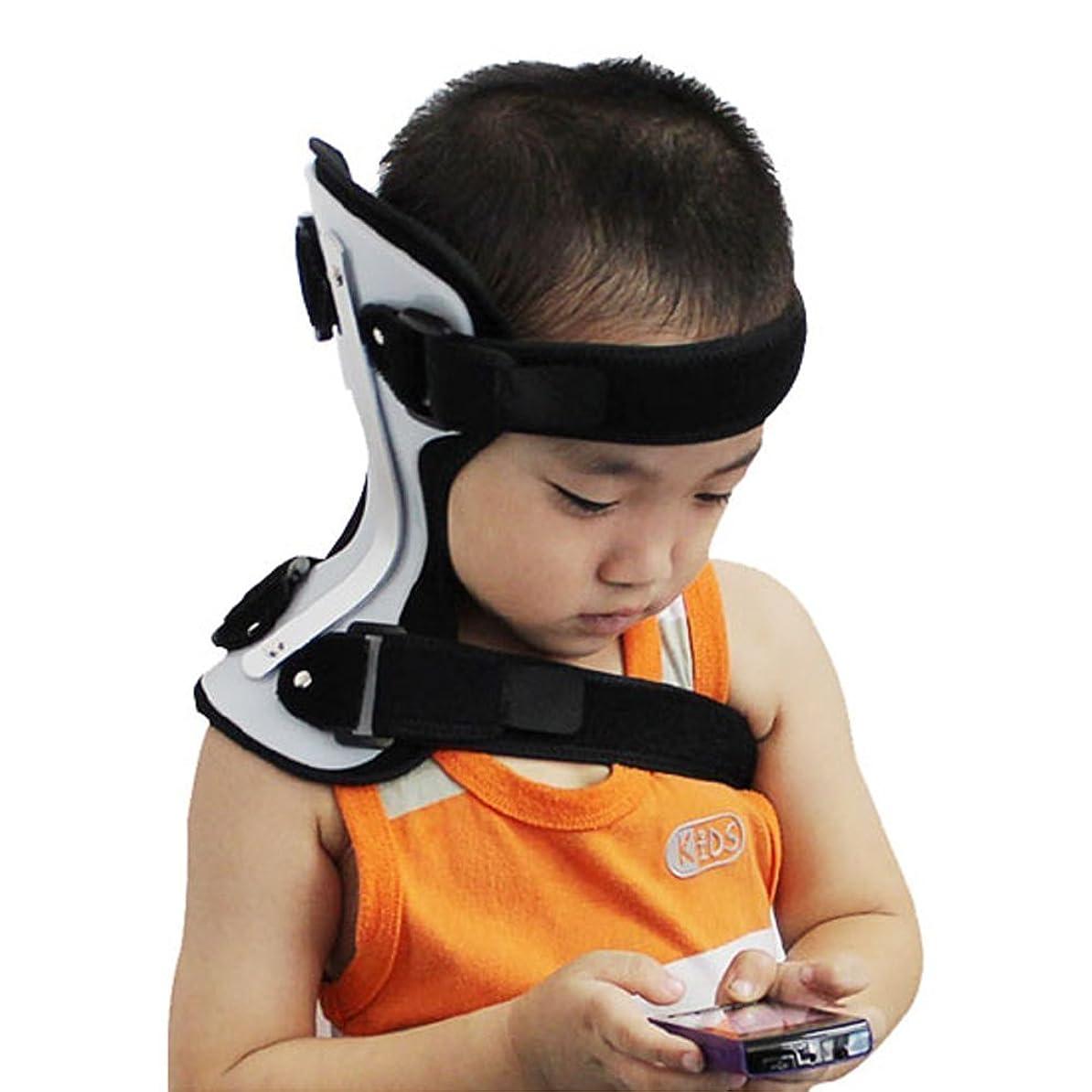 敬デザイナー些細Ober 斜頸装具 曲がった首装具 正しい首 児童斜頸補正 (L-4歳 - 6歳)