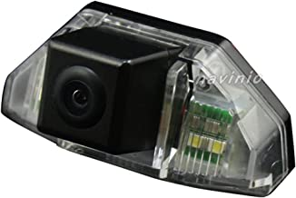 Wide Viewing Angle Parking Camera License Plate Rear View Cam with Waterproof Night Vision Function Auto Fit for Sedan CRV Odyssey Crosstour