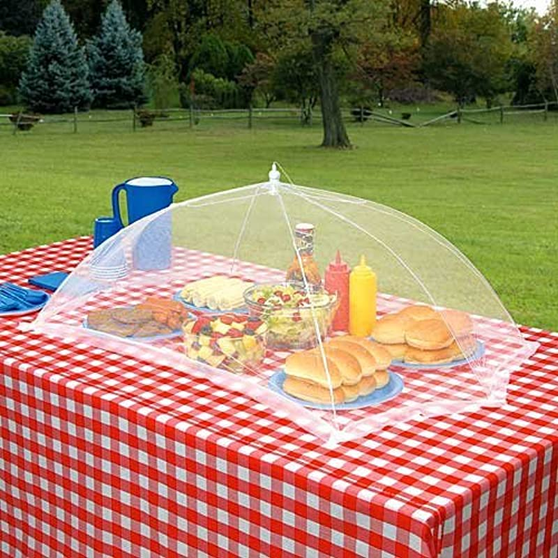 M V Trading Giant Outdoor Tabletop Food Cover 24 W X 46 L Retangle Shape
