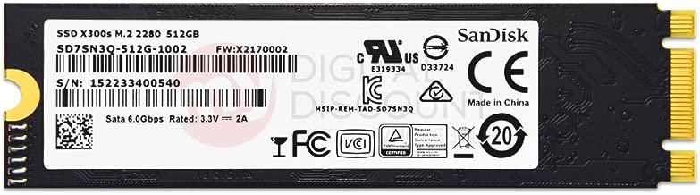 SanDisk 512GB X300s Single Sided MLC 80mm (2280) SATA III (6G) M.2 NGFF OEM SSD w/ SED - SD7SN3Q-512G-1002