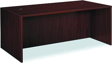 HON BL Laminate Series Office Desk Shell - Rectangular Desk Shell, 72w x 36d x 29h, Mahogany (HBL2101)