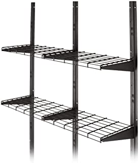 Suncast BMSA1S EMW7338395 Shelf System-Storage Shelving Shed, Garage, Indo, Black