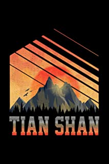 Tian Shan: Notebook / Paperback with Tian Shan motive -in A5 (6x9in) dotted dot grid