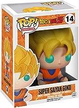 Funko POP! Anime: Dragonball Z Glow In The Dark Super Saiyan Goku Action Figure EE Exclusive