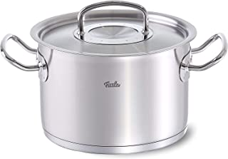 Fissler 084-123-20-000 saucepan 4.3 L Round Stainless steel - Fissler 084-123-20-000, 4.3 L, Round, Stainless steel, Stain...