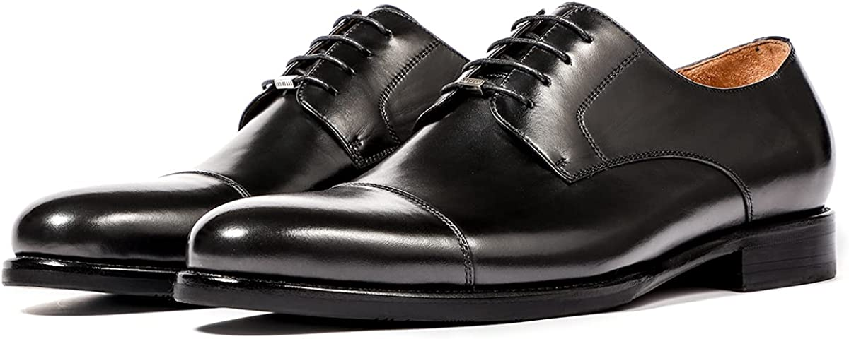 LEIZILEI Leather Outsole Dress Shoes Men's Business Shoes of The Oxford Shoes