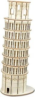 3D rompecabezas de madera - torre inclinada de Pisa Madera Modelo Construction Set - kits bricolaje para Adulto y niños - ideal y de Navidad Año Nuevo regalo - magnífico Decoración del hogar