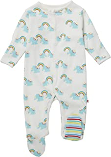 Piccalilly Baby Rainbow Elephant Toddler Sleepers