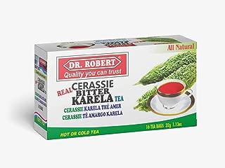 DR. ROBERT Cerassie Bitter Karela Tea 16 Tea Bags