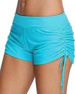 Mujer Bikini Cinturón sólido Fondo Pantalones Cortos para Niños Panty de Natación