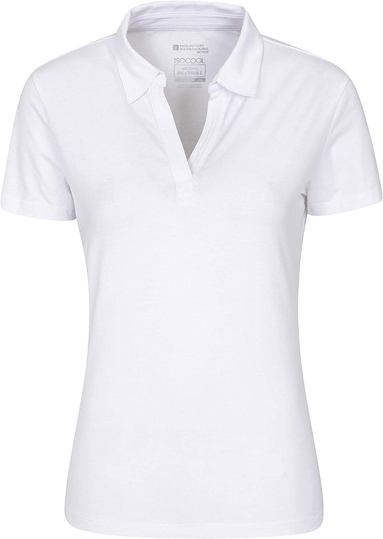 Mountain Warehouse Wms Womens Polo Tshirt