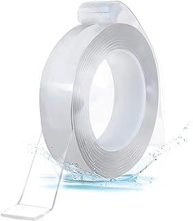 Herbruikbare Nano Plakband, Multifunctionele Transparante Dubbelzijdige No-Trace Verwijderbare Lijmtape, Wasbare Sterke Ge...