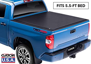 Gator ETX Soft Roll Up Truck Bed Tonneau Cover | 53412 | fits 07-19 Toyota Tundra with Track System, 5.6' Bed | Made in the USA