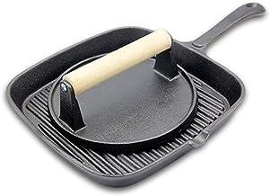 Non-Stick Frying Pan, Saucepan Induction Pot Saucepan Saucepan Steak Stripe Uncoated Cookware Cast Iron Cooker Smokeless G...