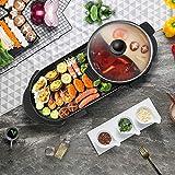 Barbecue , Vogvigo 2200W grill elettrico, Topf zum Grillen di grande capacità, multifunzione,...