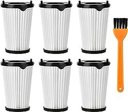 Queta 6 stuks filters en 1 stuk kleine borstel voor alle AEG CX7-2 Ergorapido stofzuigers alle modellen artikelnummer AEF150