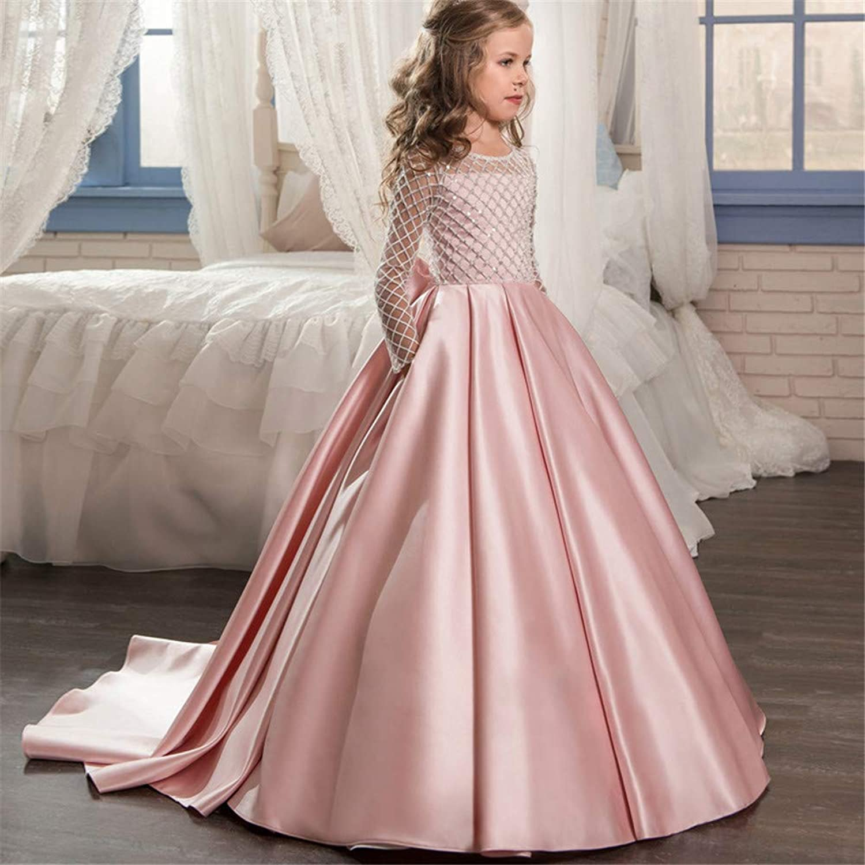 子供の女の子のドレス フラワーガールページェントドレスキッズパーティー刺繍ウェディングドレスキッズドレス女の子レース 女の子のパーティーウェディングブライドメイドの王女のドレス (サイズ : 12-13T)