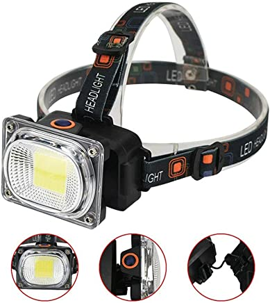 DaQingYuntur Outdoor Waterproof Headlights Glare Rechargeable Outdoor Mountaineering Hiking Mini Headlights, Used for Work Camping, Running, Cycling, Walking and Reading - ABS Material