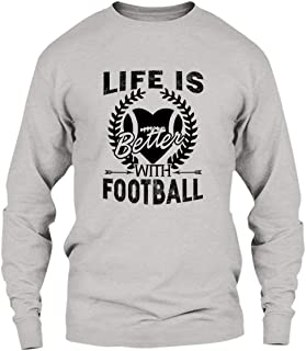 Are Black Life is Better with Football Tee Shirt, Shirt, Hoodies