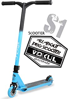 VOKUL S1 Pro Scooters - Beginner Stunt Scooter | Trick Scooter for Kids 7 Years and Up - Durable Freestlye Scooter for Boys and Grils - Nice Color,Durable