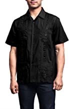 G-Style USA Men's Cuban Guayabera Long & Short 4 Pocket Cotton Blend Shirt