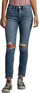 Silver Jeans Co. Women's Frisco Vintage High Rise Tapered Leg Jeans