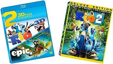 Epic / Rio / Rio 2 - Kids & Family Blu-ray 3D Collection