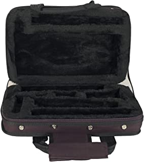 Romsion Slade Thicken Sotrage Bag Clarinet Box Case with Handle Strap Clarinet Protection Accessories