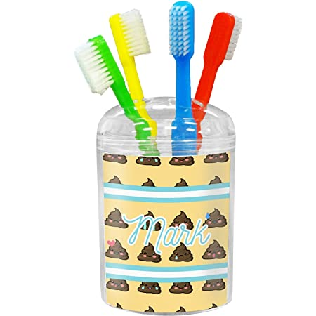 Amazon Com Rnk Shops Monogram Toothbrush Holder Personalized Home Kitchen