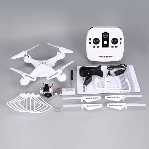 tienda de pescado para la venta GreatWall S28 - Dron Dron Dron teledirigido (2,4 GHz, cuadricóptero, 720p, WiFi, cámara FPV, 18 min, Altura de Vuelo), Color blanco  ventas en linea