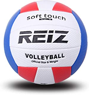 Mumian Soft PU Volleyball Official Size 5# Volleyball Professional Indoor & Outdoor Training Ball Net Needle