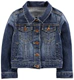 Simple Joys by Carter's Baby Girls' Toddler Denim Jacket, Medium Wash, 2T