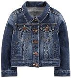 Simple Joys by Carter's Baby Girls' Denim Jacket, Medium Wash, 18 Months