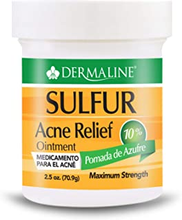 Sponsored Ad - Dermaline - Sulfur - Acne Treatment Ointment - Pomada de Azufre
