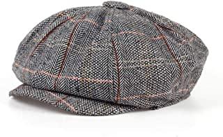 Gentleman Octagonal Cap Beret Hat for Men's Jason Statham Male Models Flat Caps