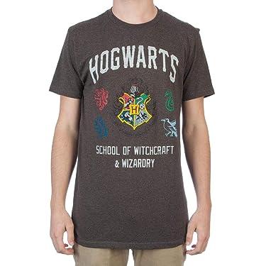 Harry Potter Hogwarts Crest House Symbols Mens T-Shirt