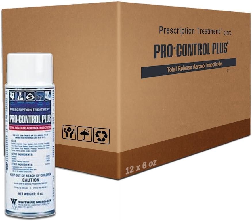 ProControl Plus Total Release Fogger Bomb 1 Max 44% OFF Oakland Mall Can 6 Case oz. x 12