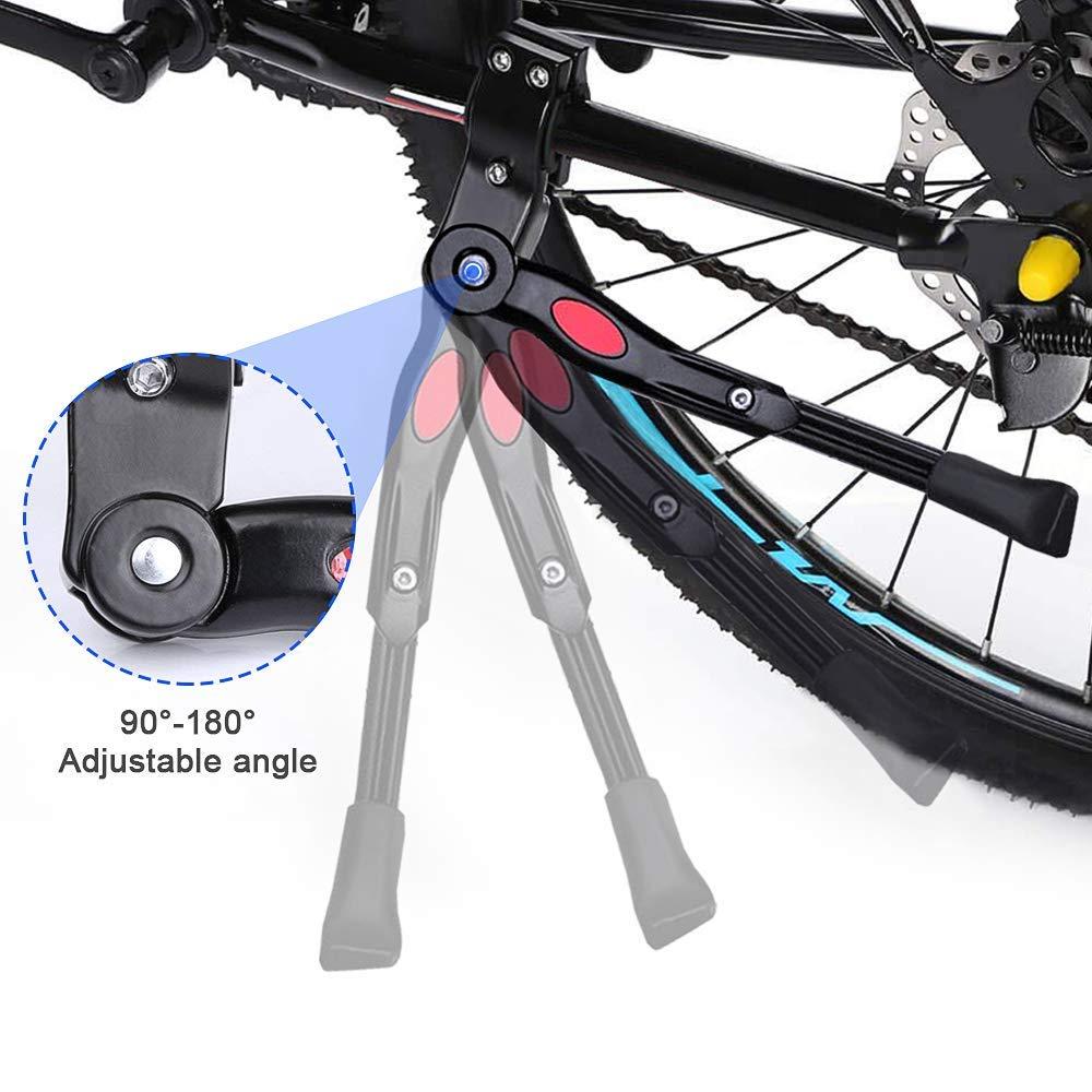 ZFYQ Pata de Cabra para Bicicleta, Aluminio Soporte Ajustable del ...