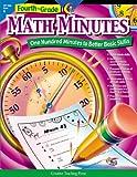 Creative Teaching Press Math Minutes Book, Grade 4
