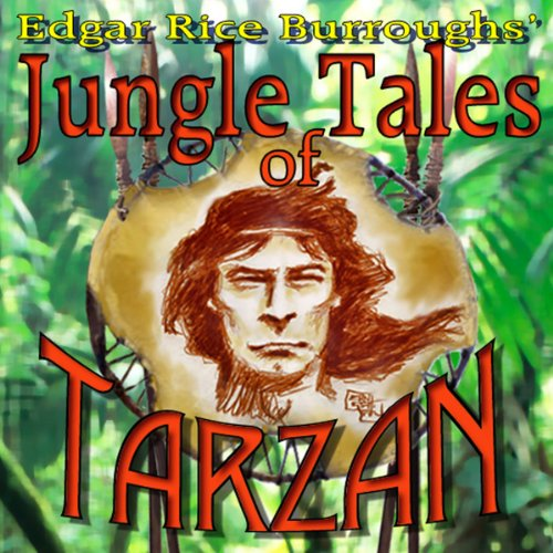 Jungle Tales of Tarzan audiobook cover art