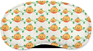 Watercolor Pumpkins Sleeping Mask - Sleeping Mask