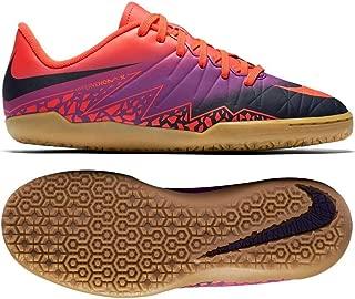 Nike Jr Hypervenomx Phelon II IC Total Crimson/Obsidian Vivid/P Cramoisi Soccer Shoes