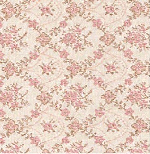 AS4HOME- Aufkleber für Möbel, Pink Blumen, 45cm x 200cm
