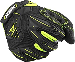 OZERO Tactical Gloves for Men, Shooting, Patrol & Work Gloves for Motorcycle, Dirt Bike, ATV Driving, Racing X-Large