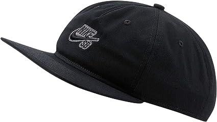 películas sí mismo Dar derechos  Gorra Nike SB Pro - CI4460010 - Negro - Unisex: Amazon.com.mx: Ropa,  Zapatos y Accesorios