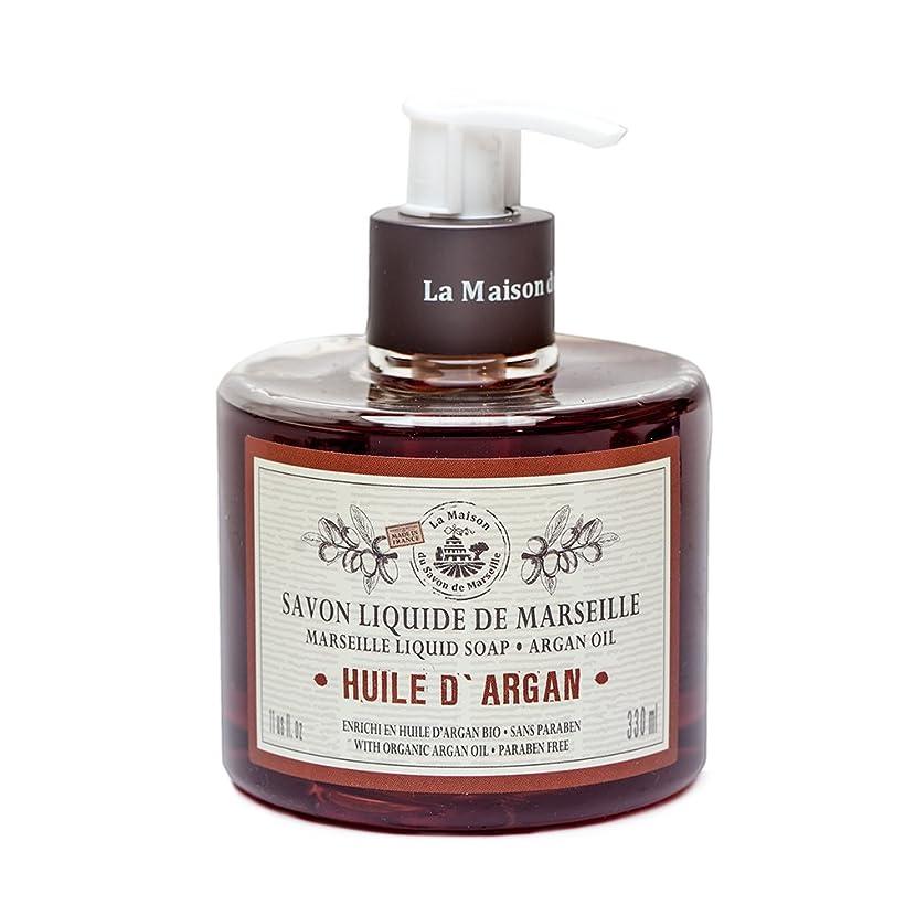 毎回憎しみ検出Savon de Marseille Liquid Soap,Organic Argan oil 330ml