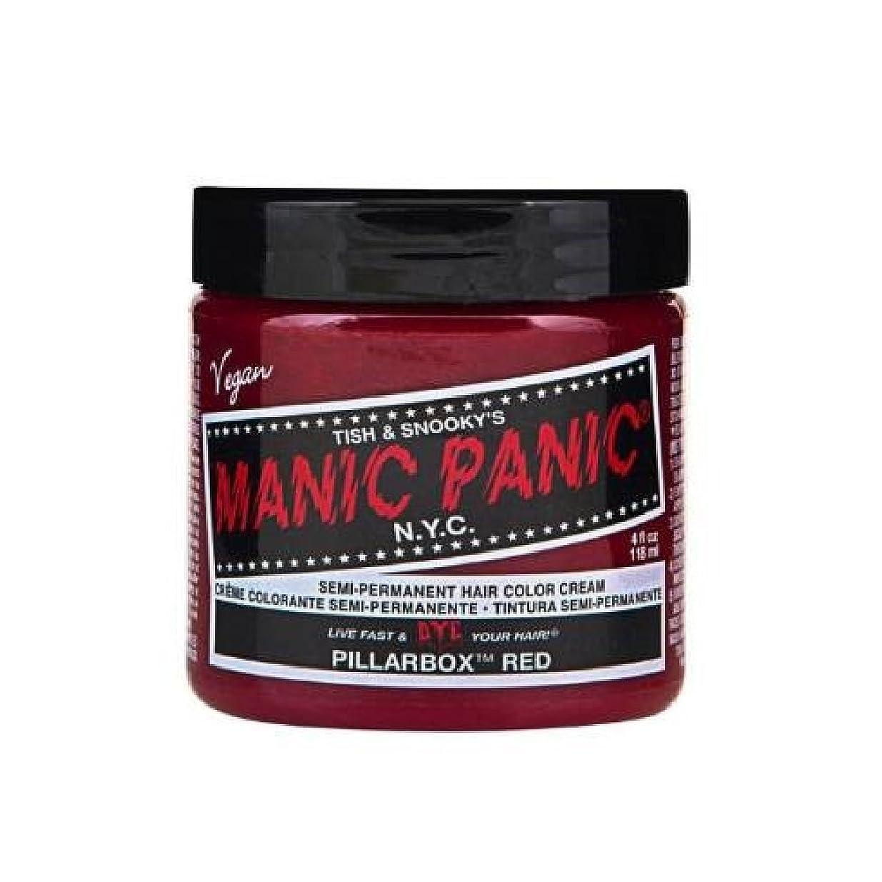 誇張する砂利軍団MANIC PANIC マニックパニック 118ml Pillarbox Red ピラーボックス レッド MC11020