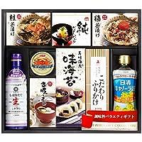 キッコーマン &日清 和風詰合わせ しょうゆ・ふりかけ・海苔[NL-50A]