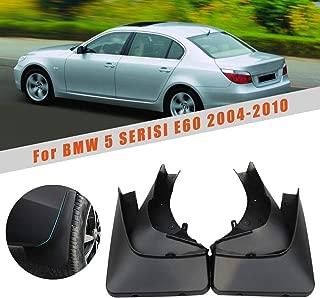 HCDSWSN Car Fender Mud Splash Guards Mud Flaps Mudguards Mud Flaps,for BMW 5 Series E60 2004 2005 2006 2007 2008 2009 2010